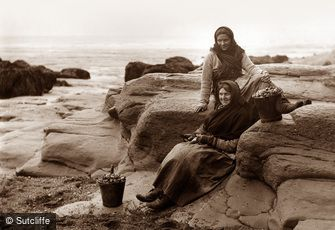 Whitby, Two Fisherwomen c1880