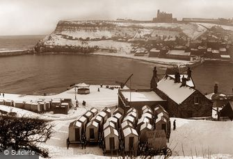 Whitby, Under Snow c1880