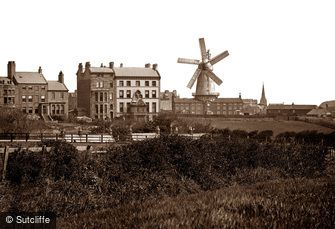 Whitby, Union Mill c1880