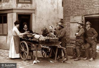 Whitby, Vegetable Cart c1880