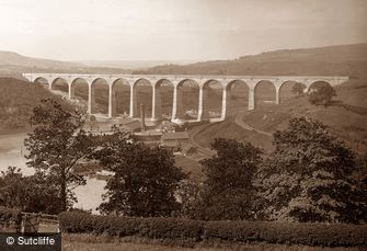 Whitby, Viaduct c1880
